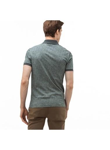 Lacoste Erkek Slim Fit Tişört PH0020.20H Yeşil